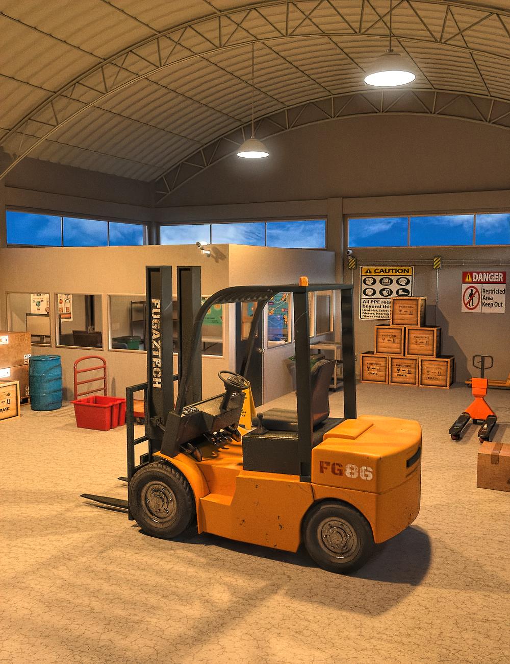 FG Warehouse by: Fugazi1968Ironman, 3D Models by Daz 3D