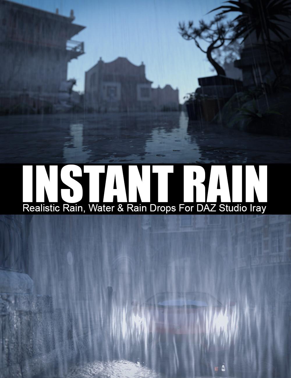 Instant Rain by: Dreamlight, 3D Models by Daz 3D