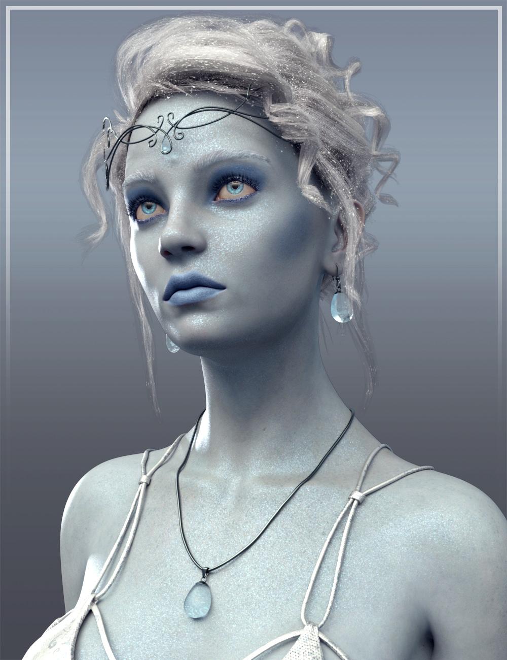 Frost Maiden HD for Genesis 8 Female by: Josh Crockett, 3D Models by Daz 3D