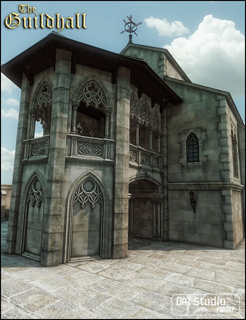 The Guildhall by: Jack Tomalin, 3D Models by Daz 3D