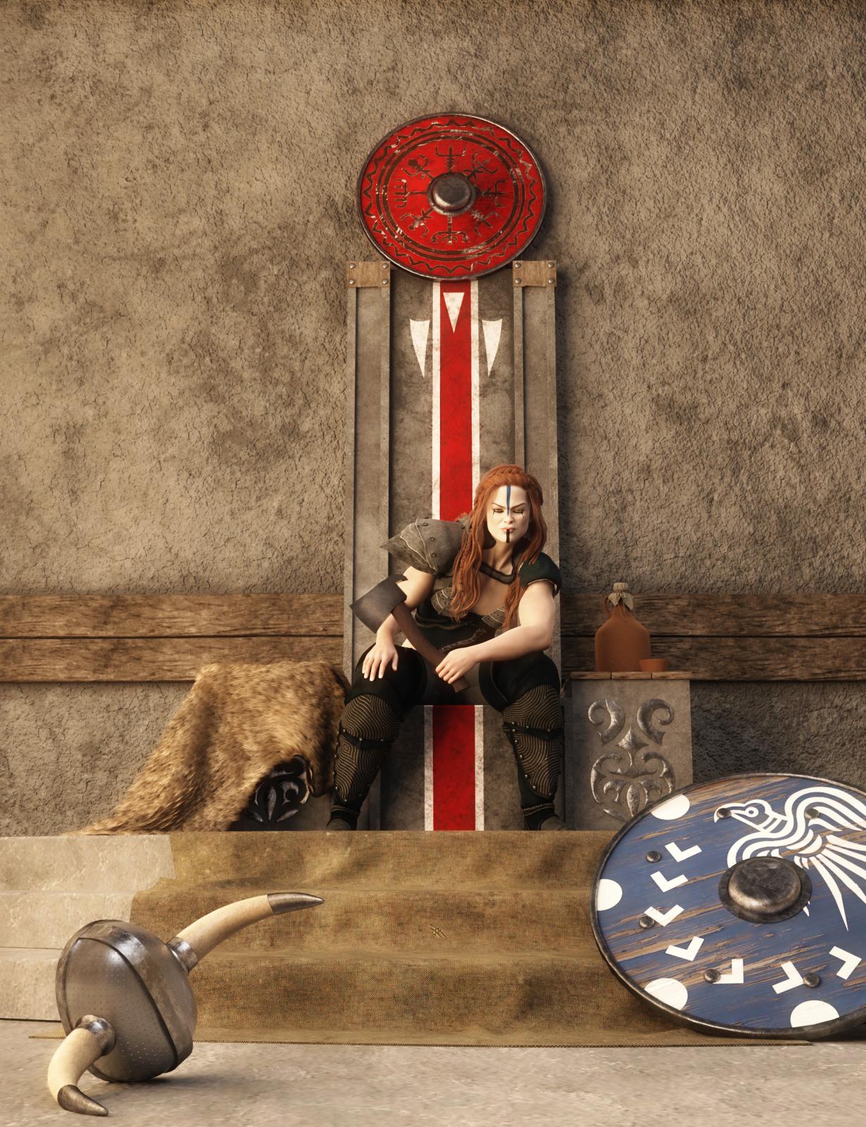 Viking Bundle by: Neikdian, 3D Models by Daz 3D