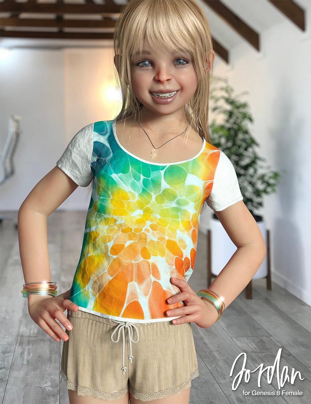 Jordan Character for Genesis 8 Females by: 3D Universe, 3D Models by Daz 3D