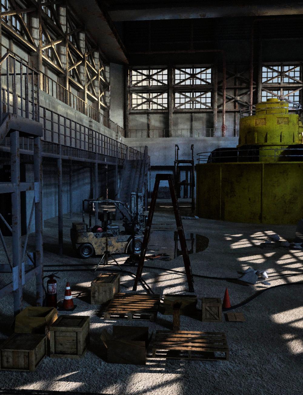 FG Generator Hall by: Fugazi1968Ironman, 3D Models by Daz 3D