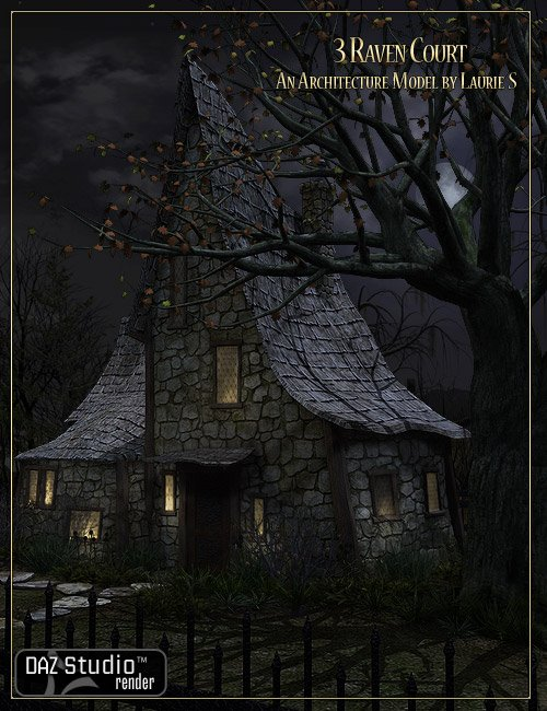 3 Raven Court by: LaurieS, 3D Models by Daz 3D