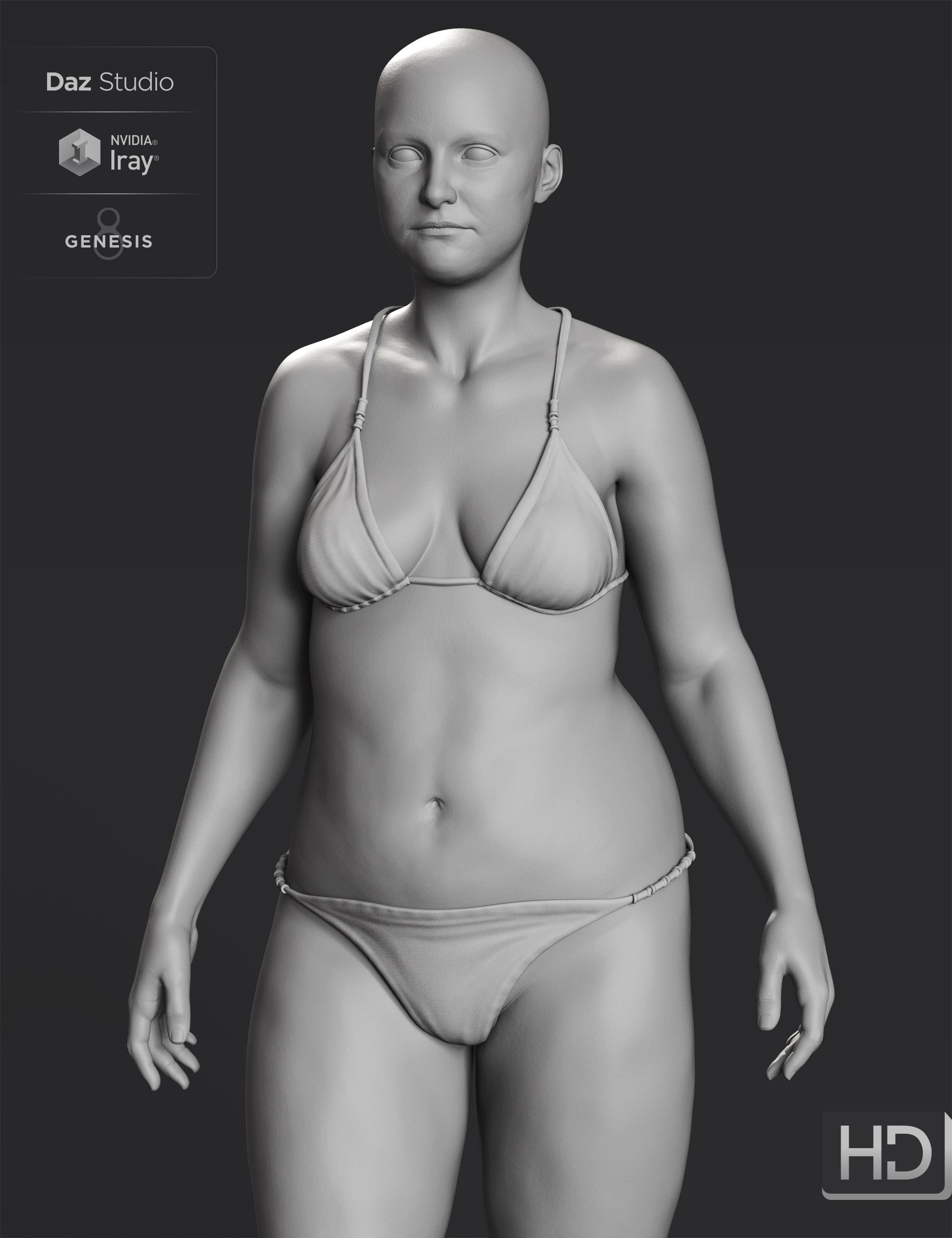 Brooke 8.1 HD Add-On by: , 3D Models by Daz 3D