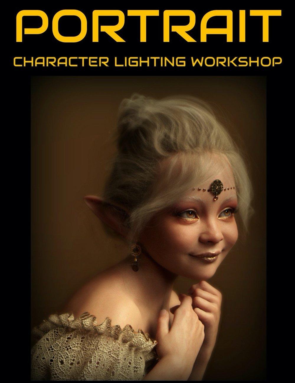 Portrait - Character Lighting Tutorial by: Digital Art Live, 3D Models by Daz 3D