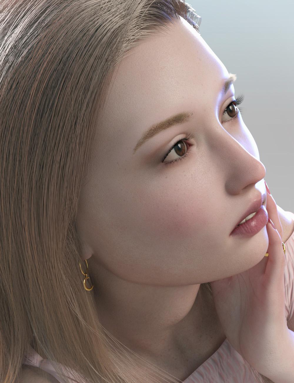 Abigail HD for Genesis 8 Female by: Cherubit, 3D Models by Daz 3D