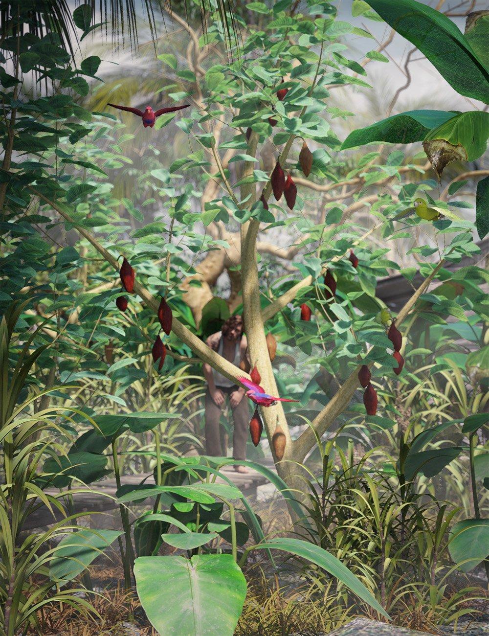 Tropical Plants - Edible Exotics by: MartinJFrost, 3D Models by Daz 3D