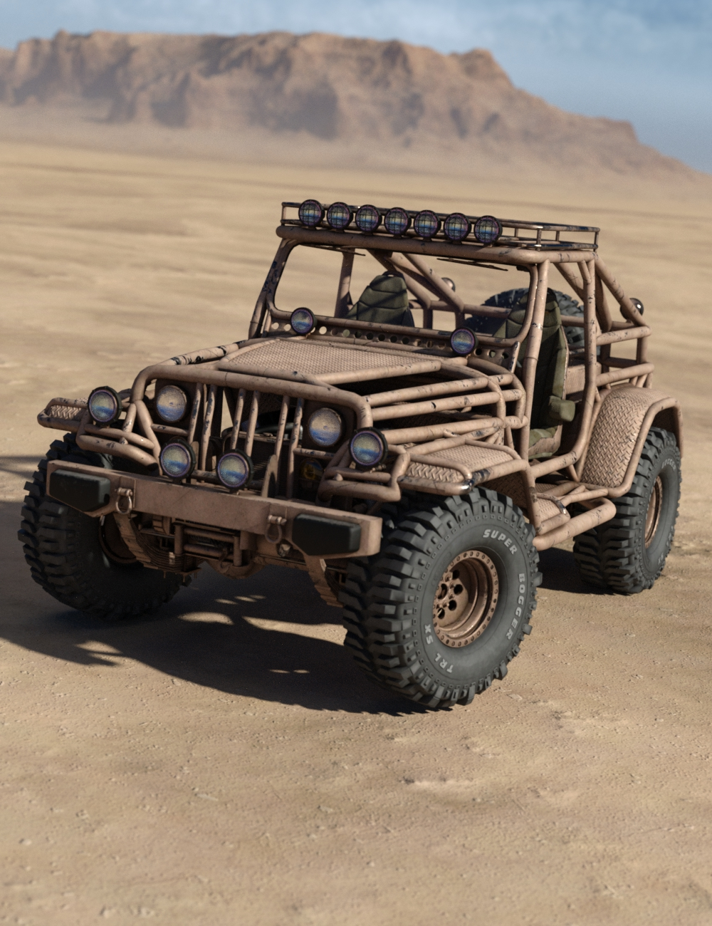 Snake Wrangler Truck by: DzFire, 3D Models by Daz 3D
