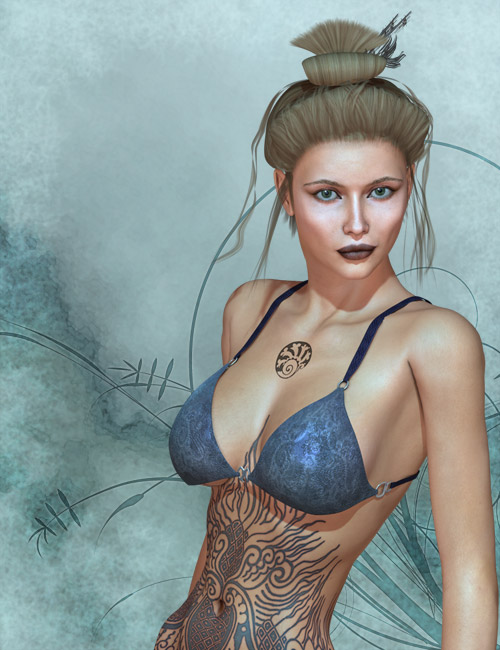 Warrior Maiden Tazi by: surreality, 3D Models by Daz 3D