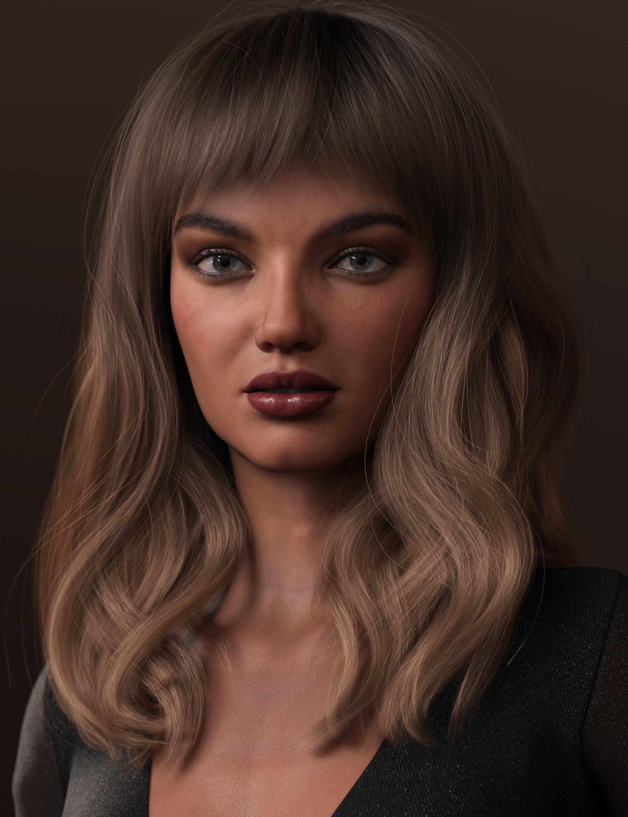 2021-02 Hair for Genesis 8 and 8.1 Females by: outoftouch, 3D Models by Daz 3D