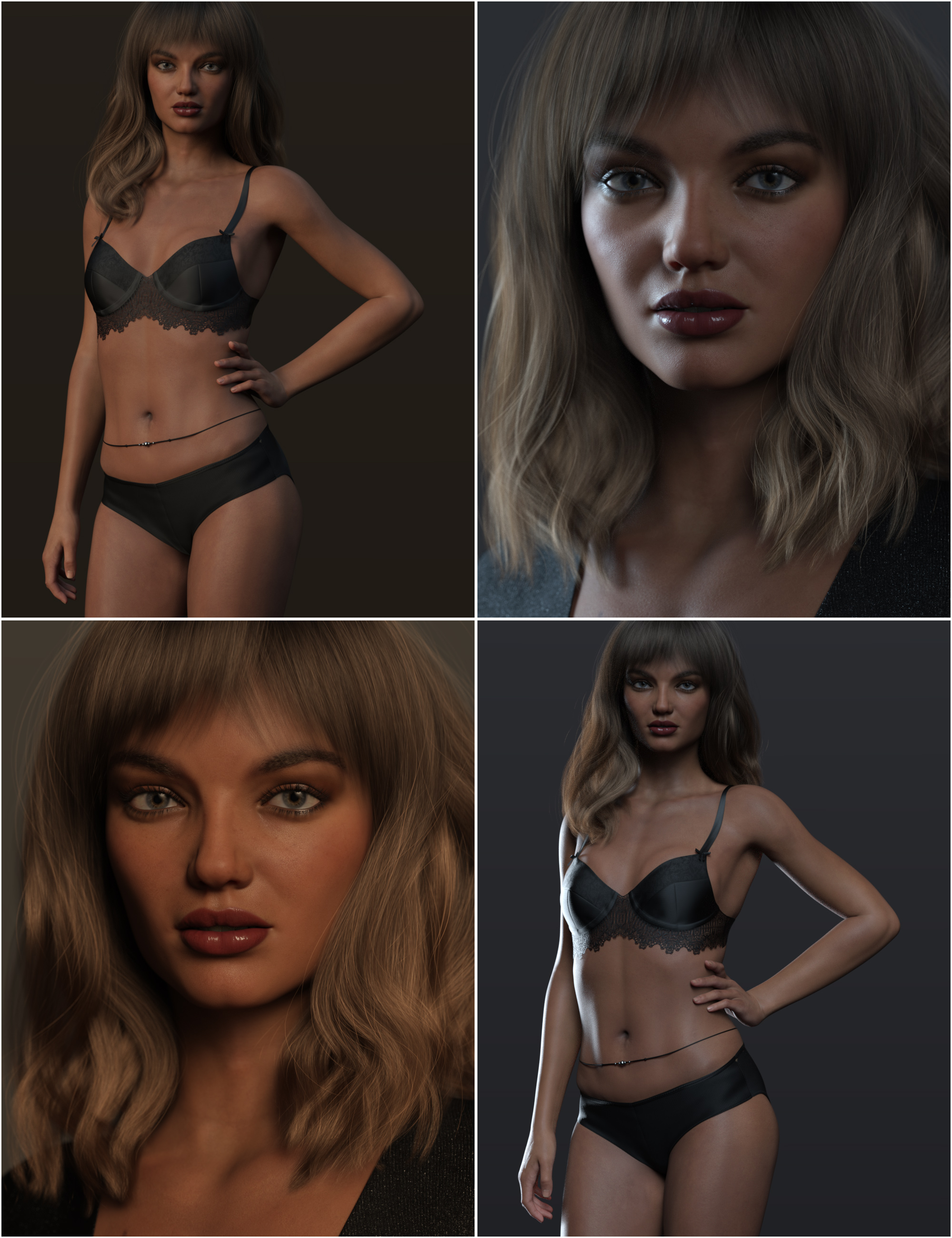 Render RY Inessa - Lights, Expressions and Cameras by: outoftouchRaiya, 3D Models by Daz 3D