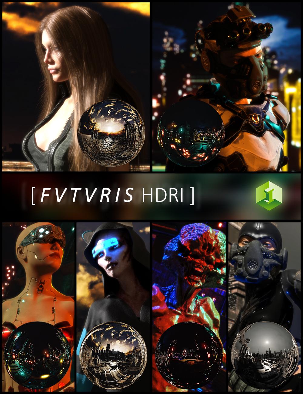 Fvtvris HDRI by: JDA HDRI, 3D Models by Daz 3D