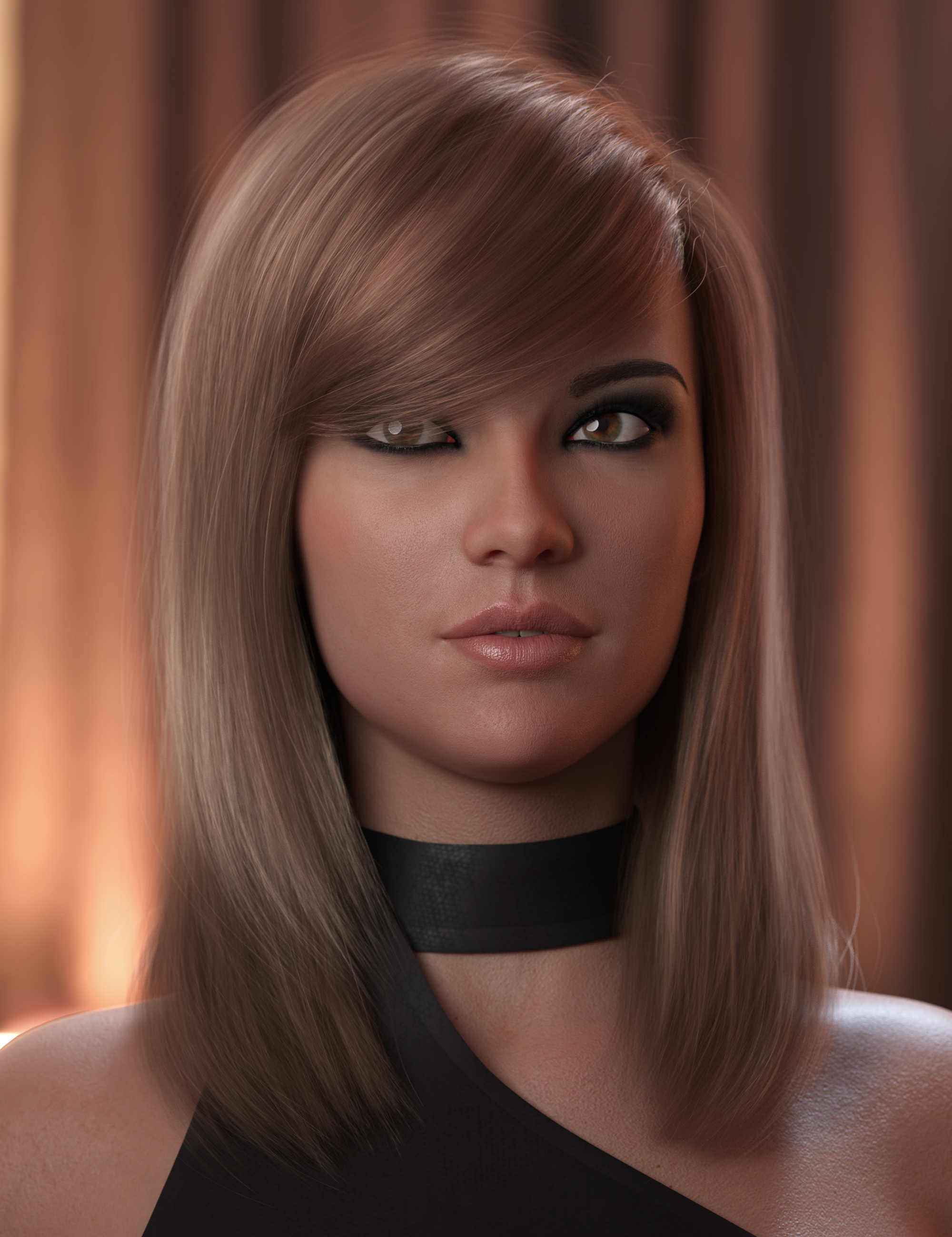 2021-03 Hair for Genesis 8 and 8.1 Females by: outoftouch, 3D Models by Daz 3D
