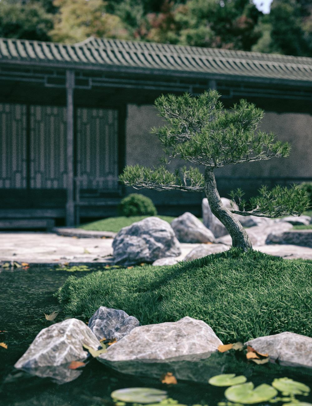 Meditation Gardens by: Stonemason, 3D Models by Daz 3D