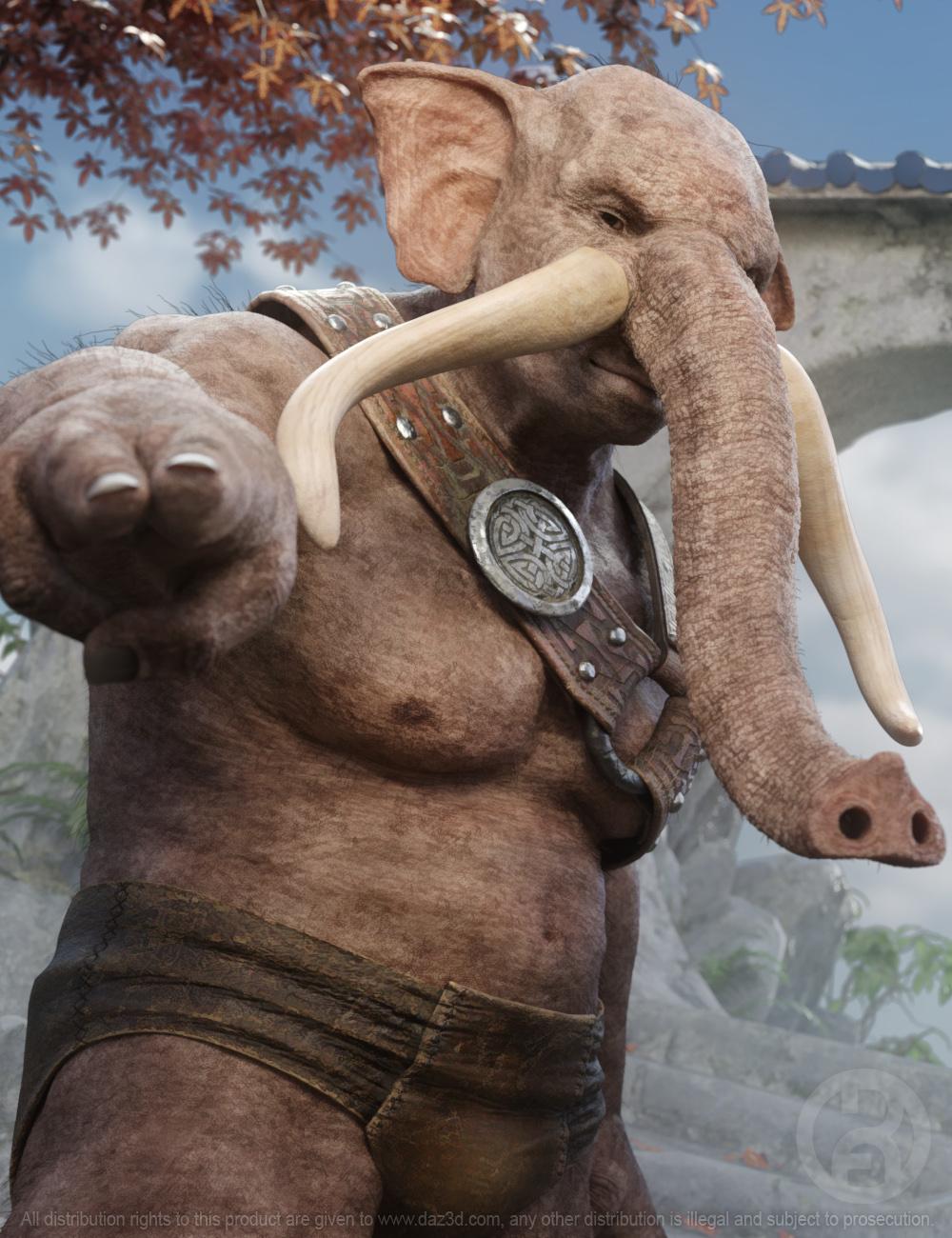 Elebeast for Genesis 8 Male by: RawArt, 3D Models by Daz 3D