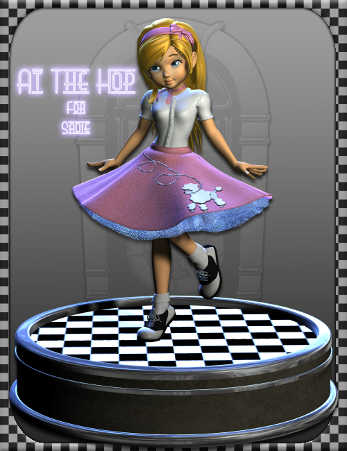 At The Hop for Sadie by: Ryverthorn, 3D Models by Daz 3D