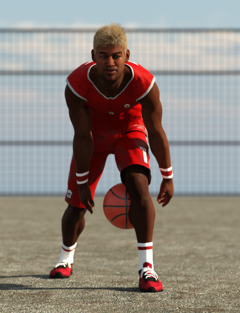 Basketball Poses for Genesis 8 and 8.1 Male by: Ensary, 3D Models by Daz 3D