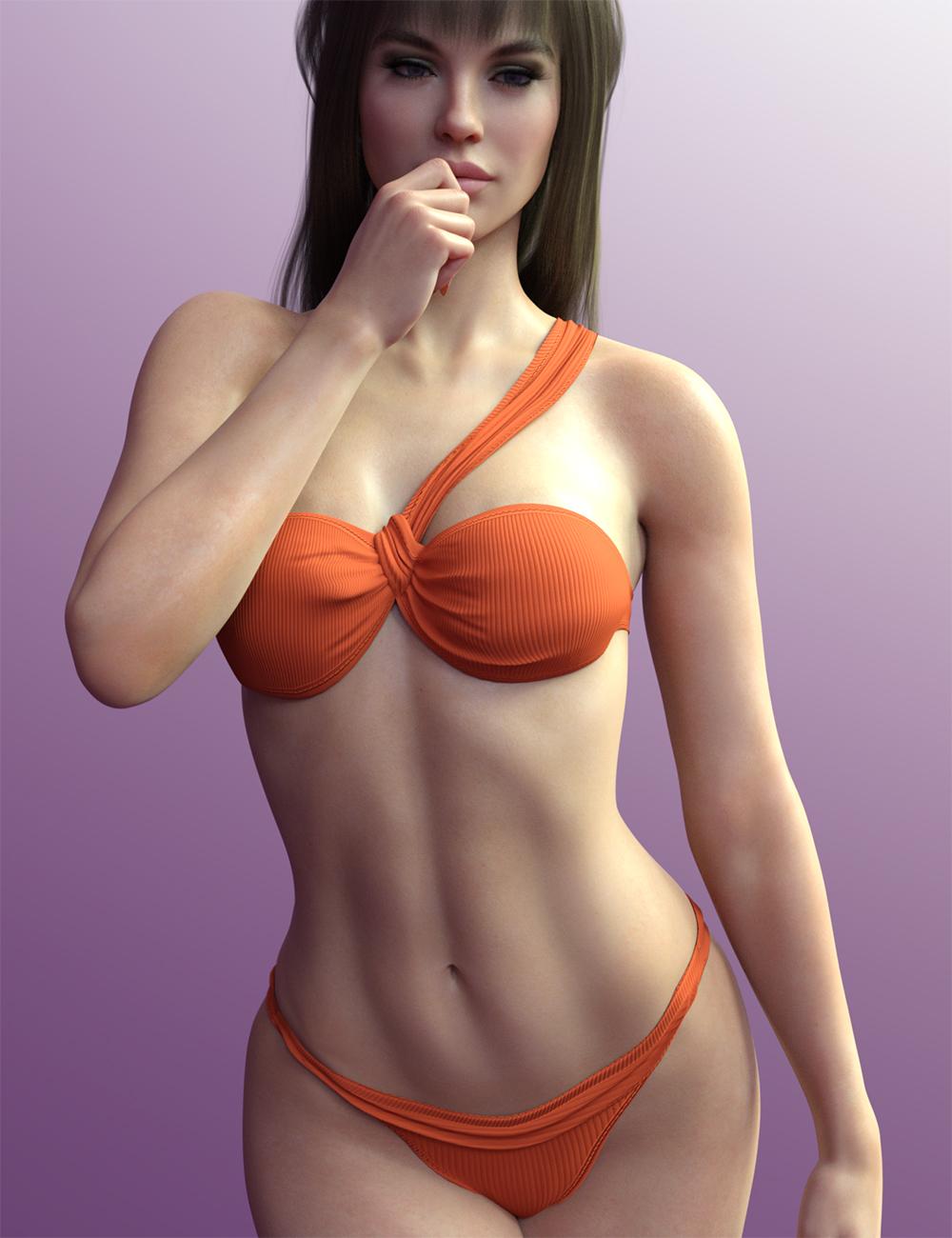X-Fashion the Feminine Bikini by: xtrart-3d, 3D Models by Daz 3D