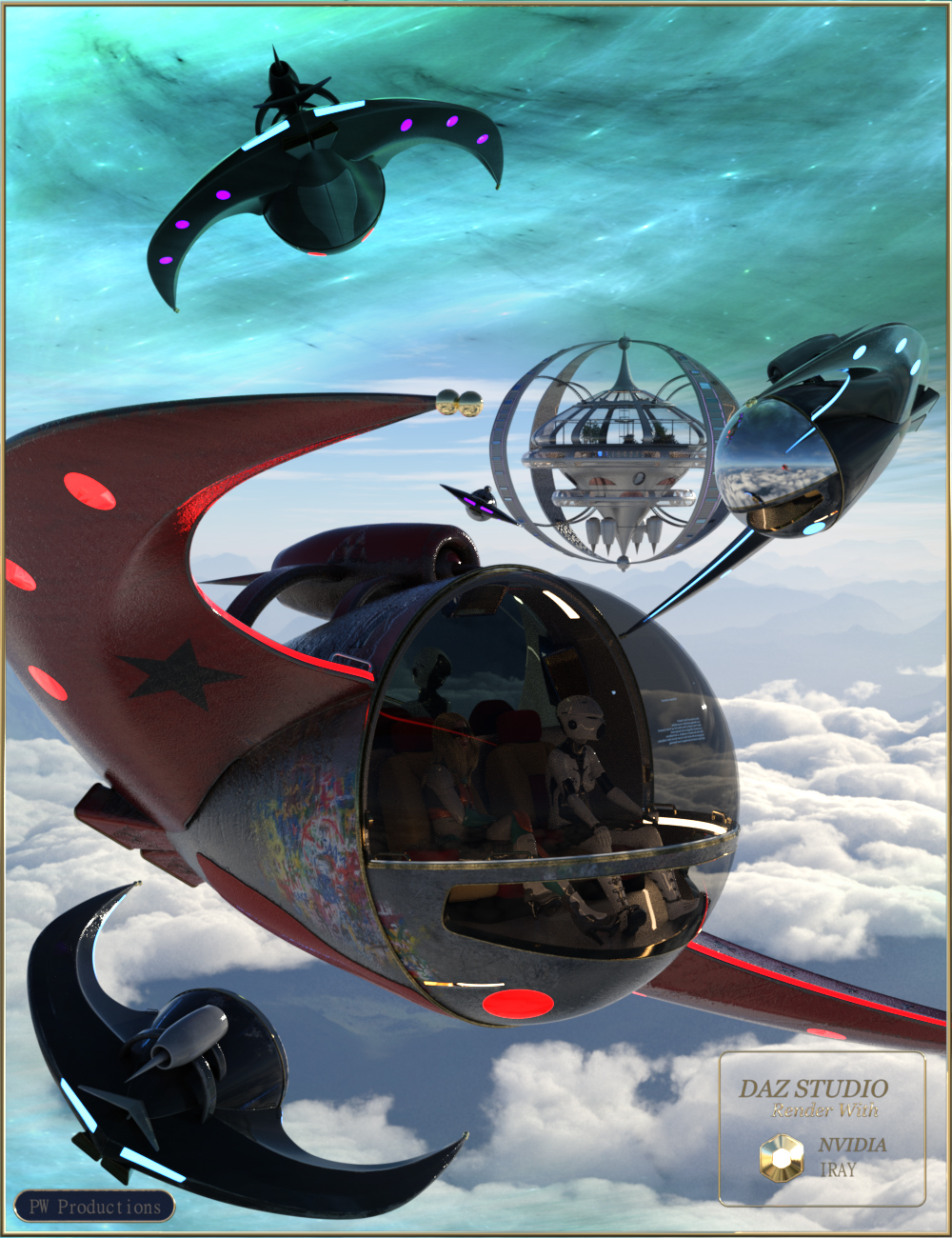PW Gyro Wing by: PW Productions, 3D Models by Daz 3D
