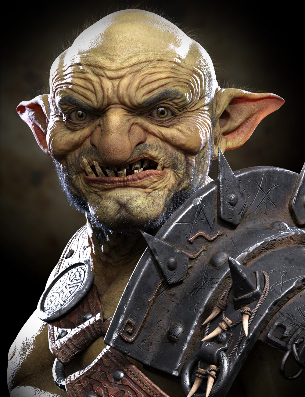 War Goblin HD for Genesis 8.1 Male by: Josh Crockett, 3D Models by Daz 3D