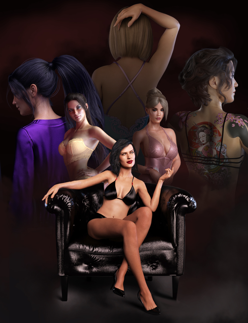 Be Mine Staff Picks Bundle by: , 3D Models by Daz 3D