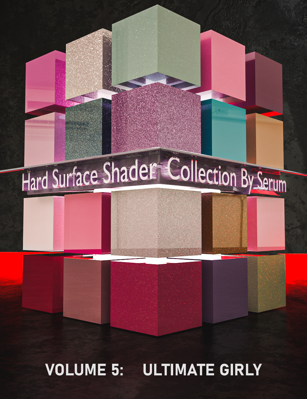 Iray Hard Surface Shaders Volume Five Ultimate Girly by: Serum, 3D Models by Daz 3D