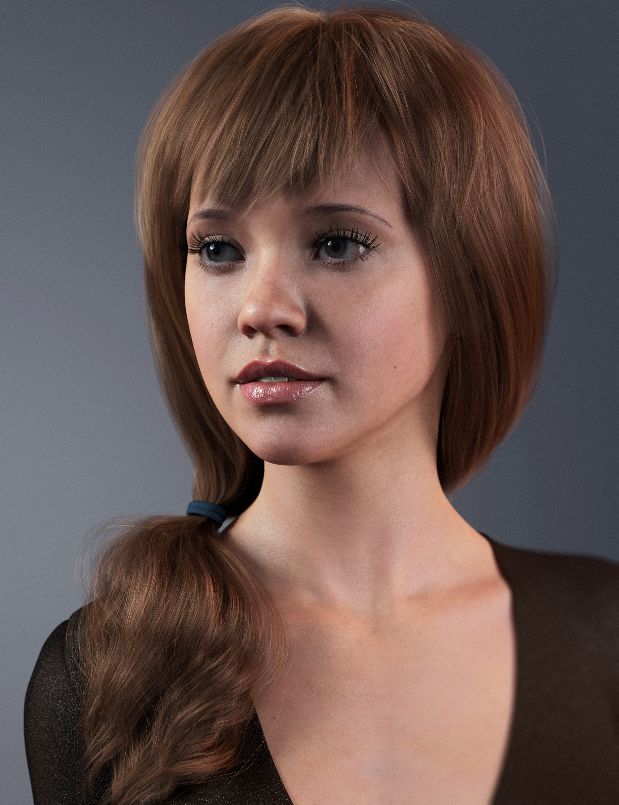 2021-05 Hair for Genesis 8 and 8.1 Females by: outoftouch, 3D Models by Daz 3D