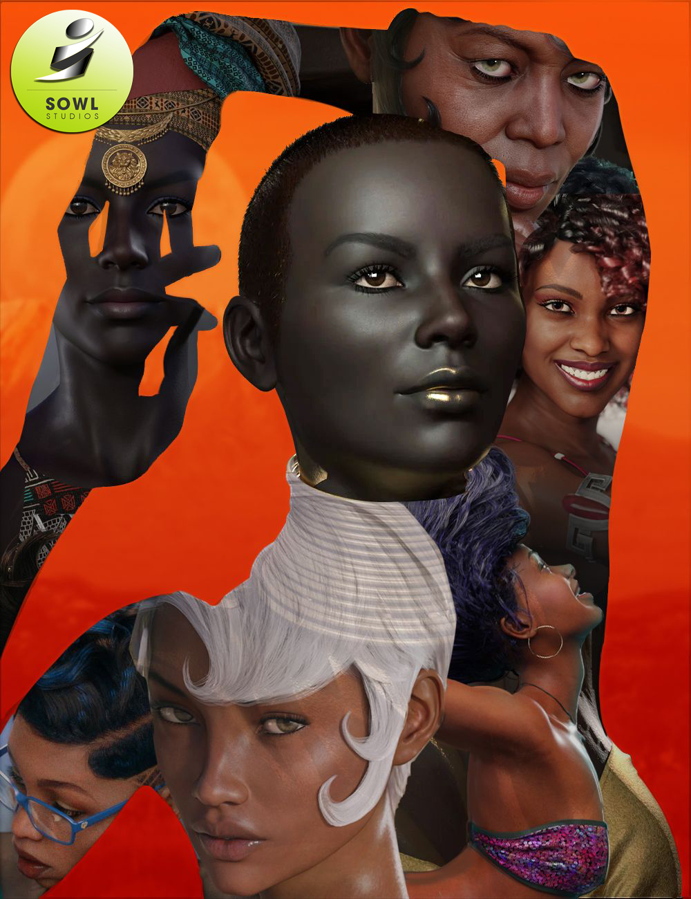 Celebrate Black Women Sowl Studios Picks by: , 3D Models by Daz 3D