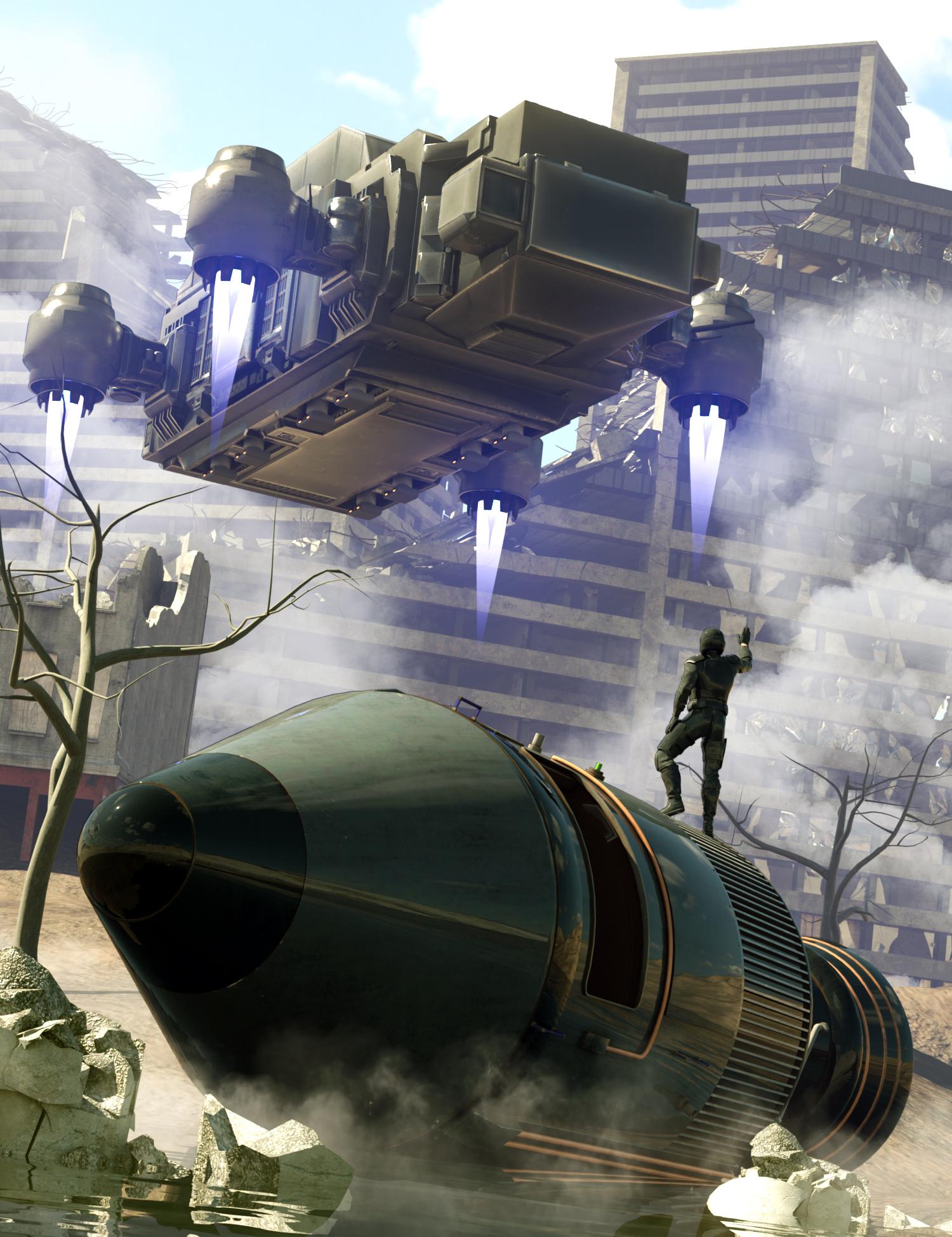 Space Explorers Bundle by: , 3D Models by Daz 3D