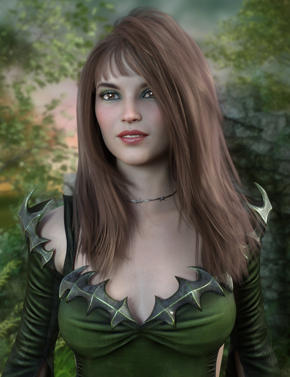 Jeanie Hair for Genesis 8 Females by: PropschickDerelictMonster, 3D Models by Daz 3D