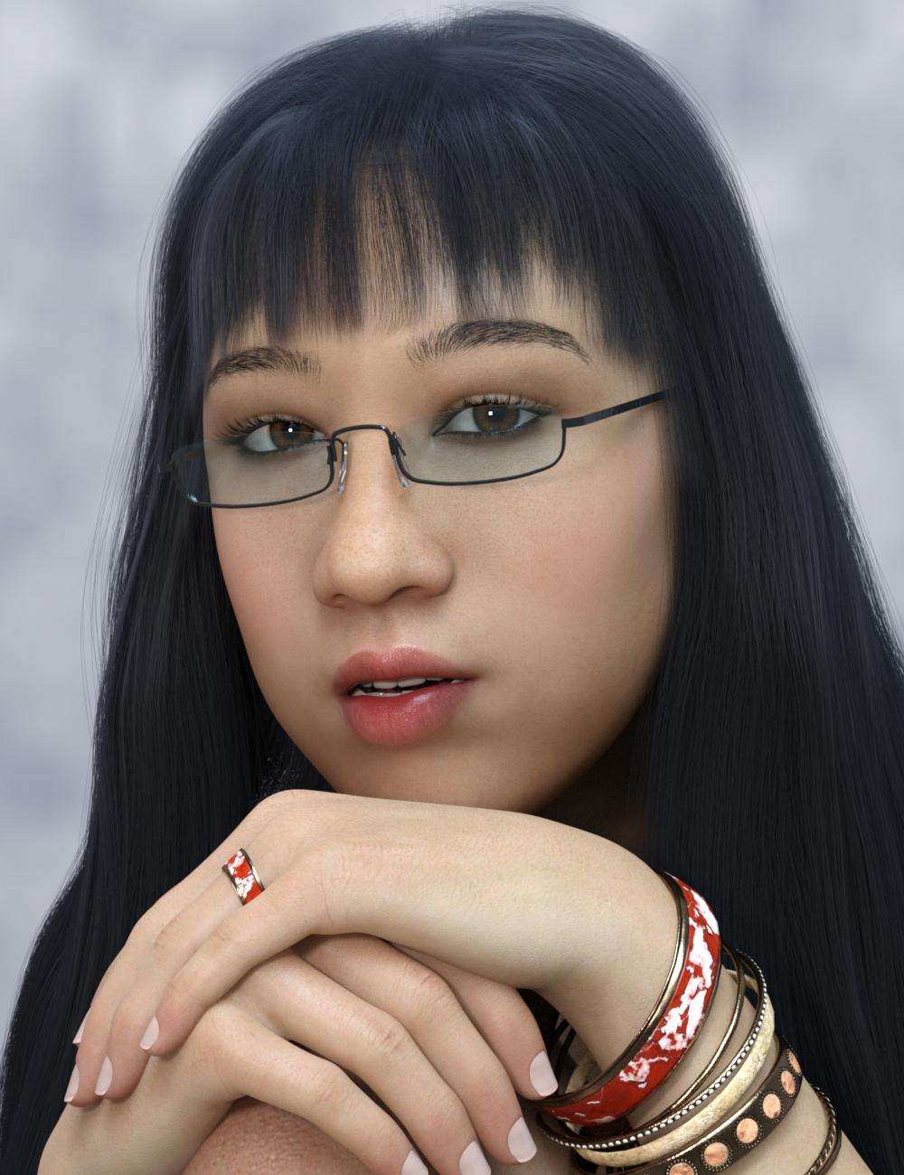 Reizi for Genesis 8 Female by: Warloc, 3D Models by Daz 3D