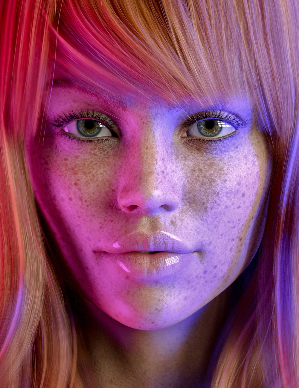 Sia HD for Genesis 8.1 Female by: Colm Jackson, 3D Models by Daz 3D