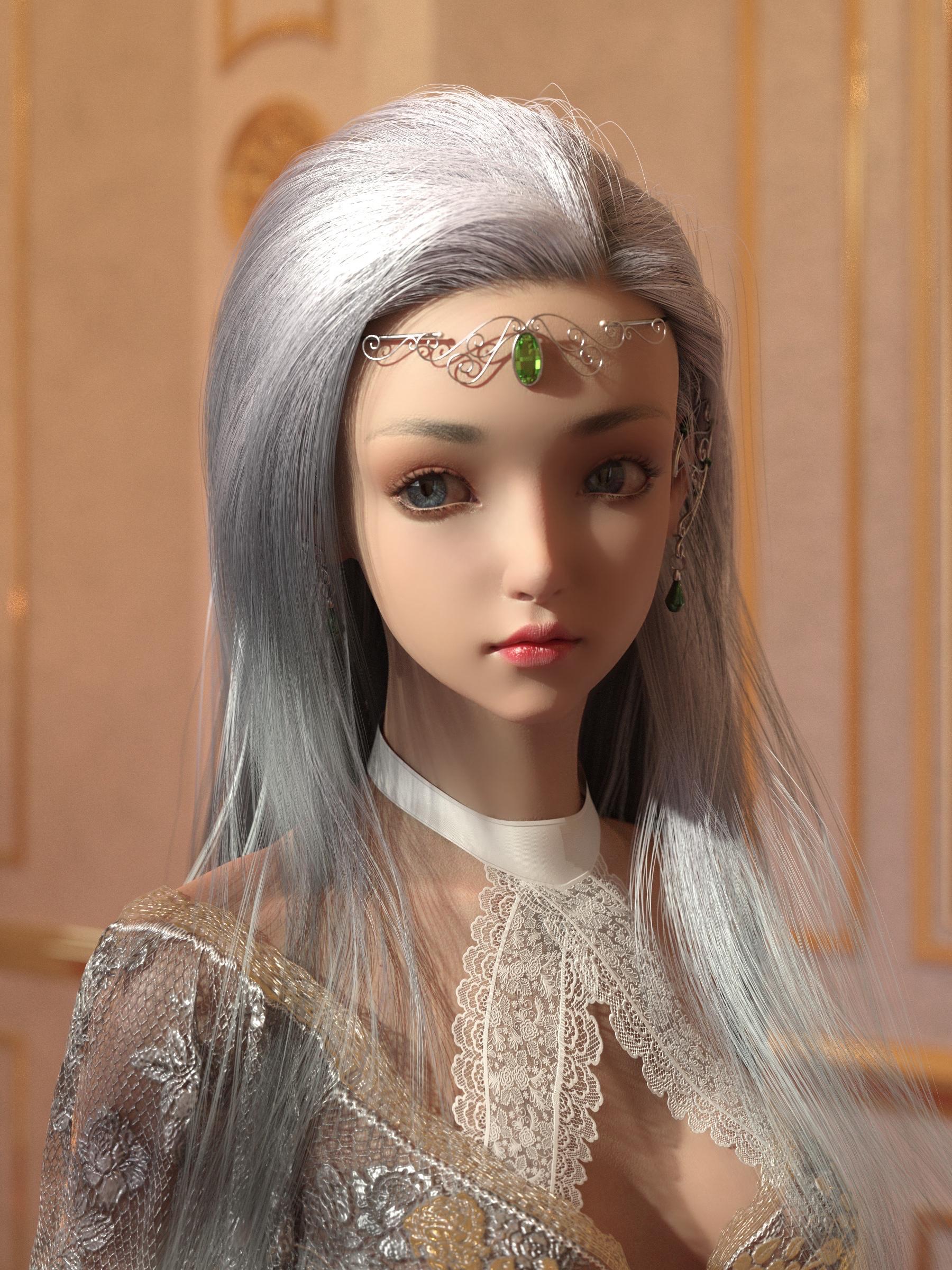 Leona for Genesis 8.1 Female by: Ergou, 3D Models by Daz 3D