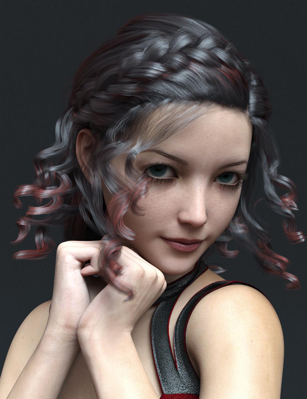 MR Rhoanita for Genesis 8.1 Female by: Marcius, 3D Models by Daz 3D
