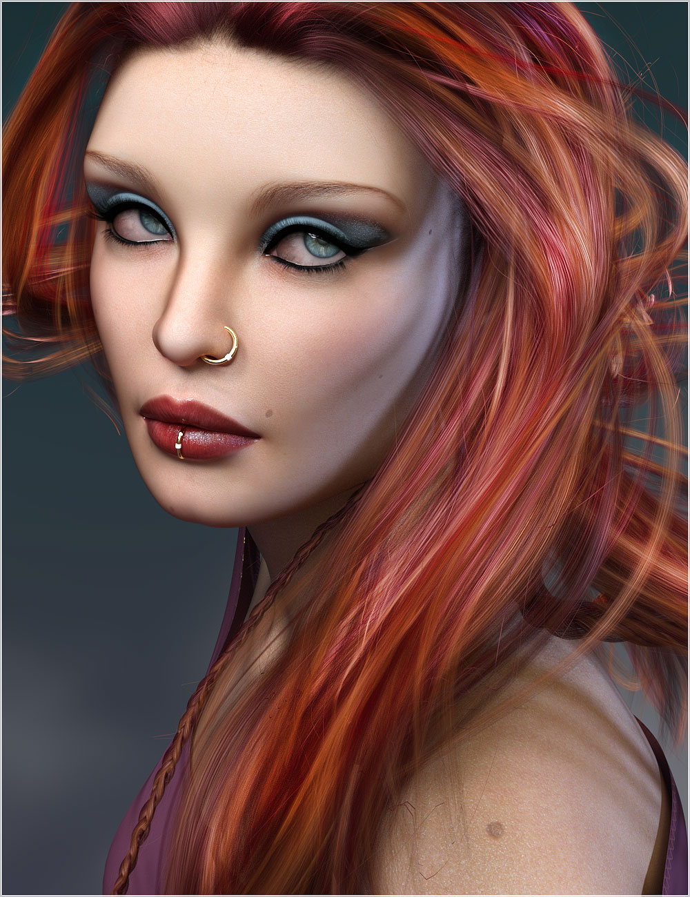 Ghayad for Genesis 8 Females by: Belladzines, 3D Models by Daz 3D