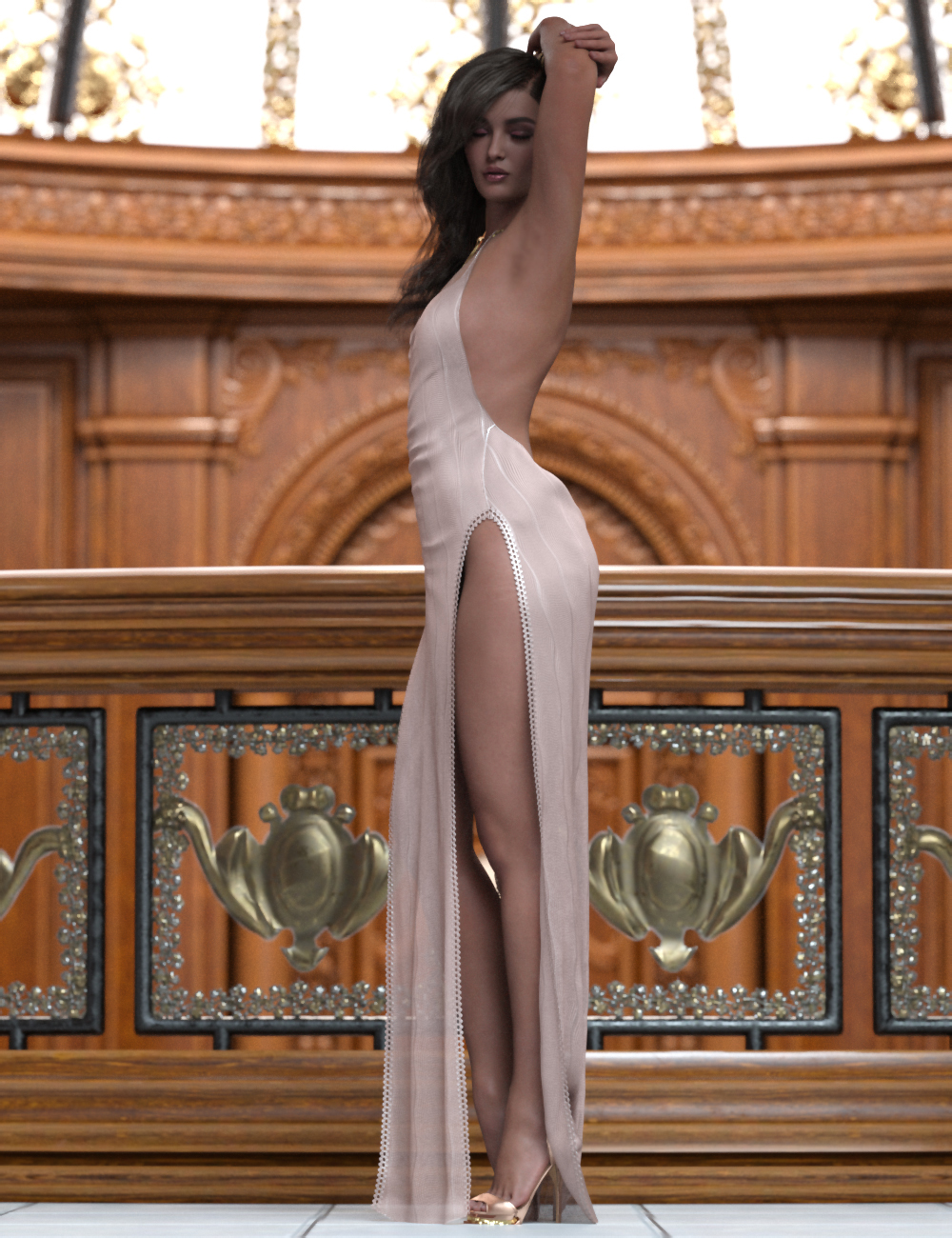 Gala Poses for Genesis Female 8.1 by: Ensary, 3D Models by Daz 3D