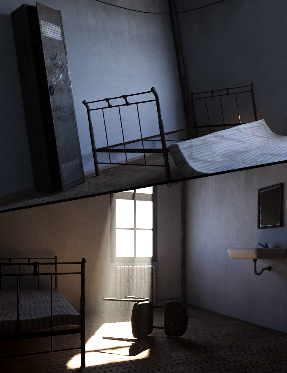 Old Room by: Mytilus3dLab, 3D Models by Daz 3D
