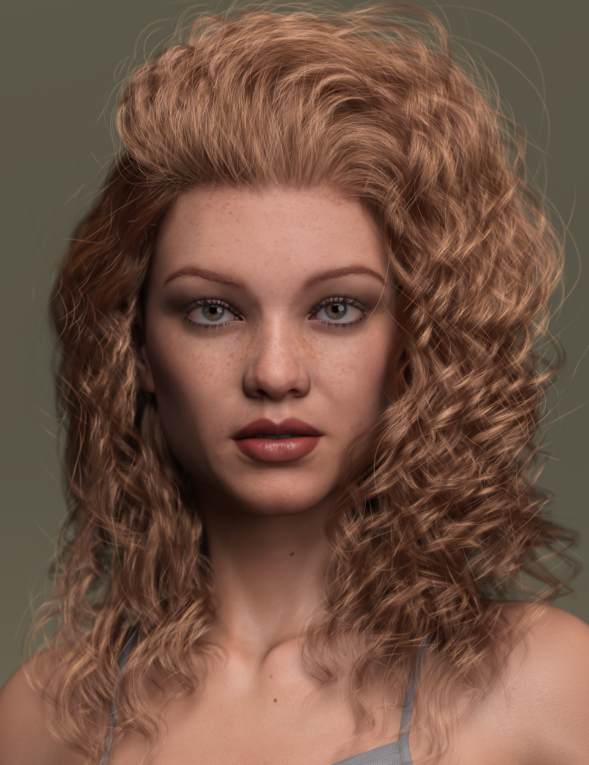2021-06 Hair for Genesis 8 and 8.1 Females by: outoftouch, 3D Models by Daz 3D