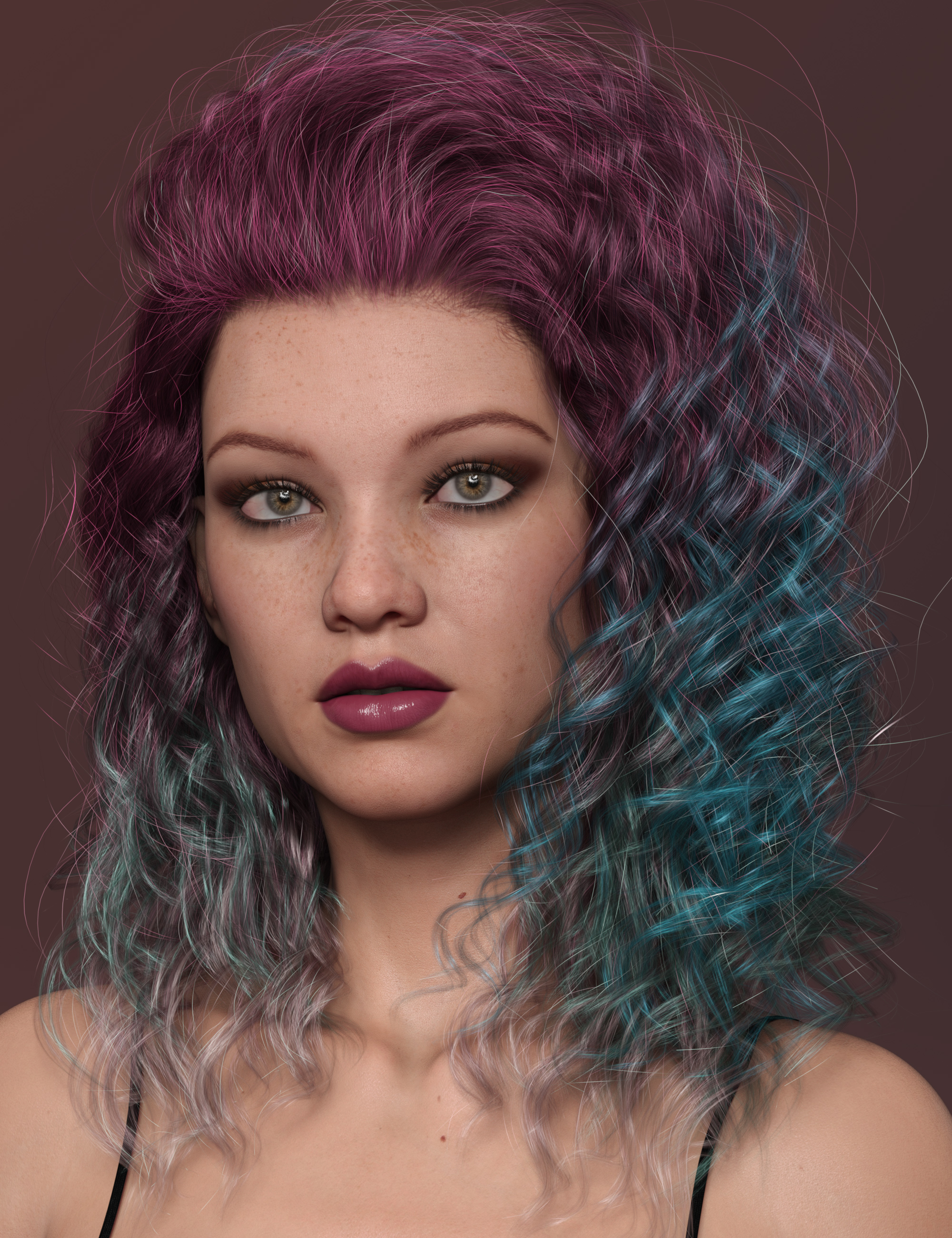 2021-06 Hair Texture Expansion by: outoftouch, 3D Models by Daz 3D