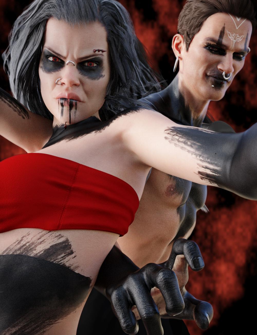 Devilish Bundle by: Neikdian, 3D Models by Daz 3D