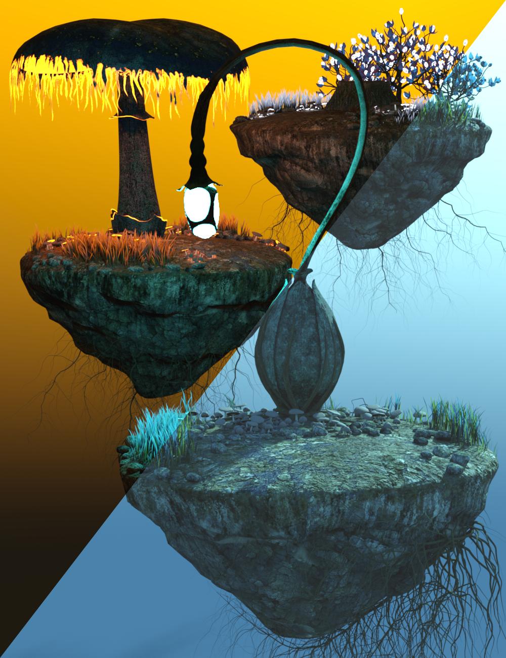 v176 Iray Fantasy Dioramas by: vikike176, 3D Models by Daz 3D