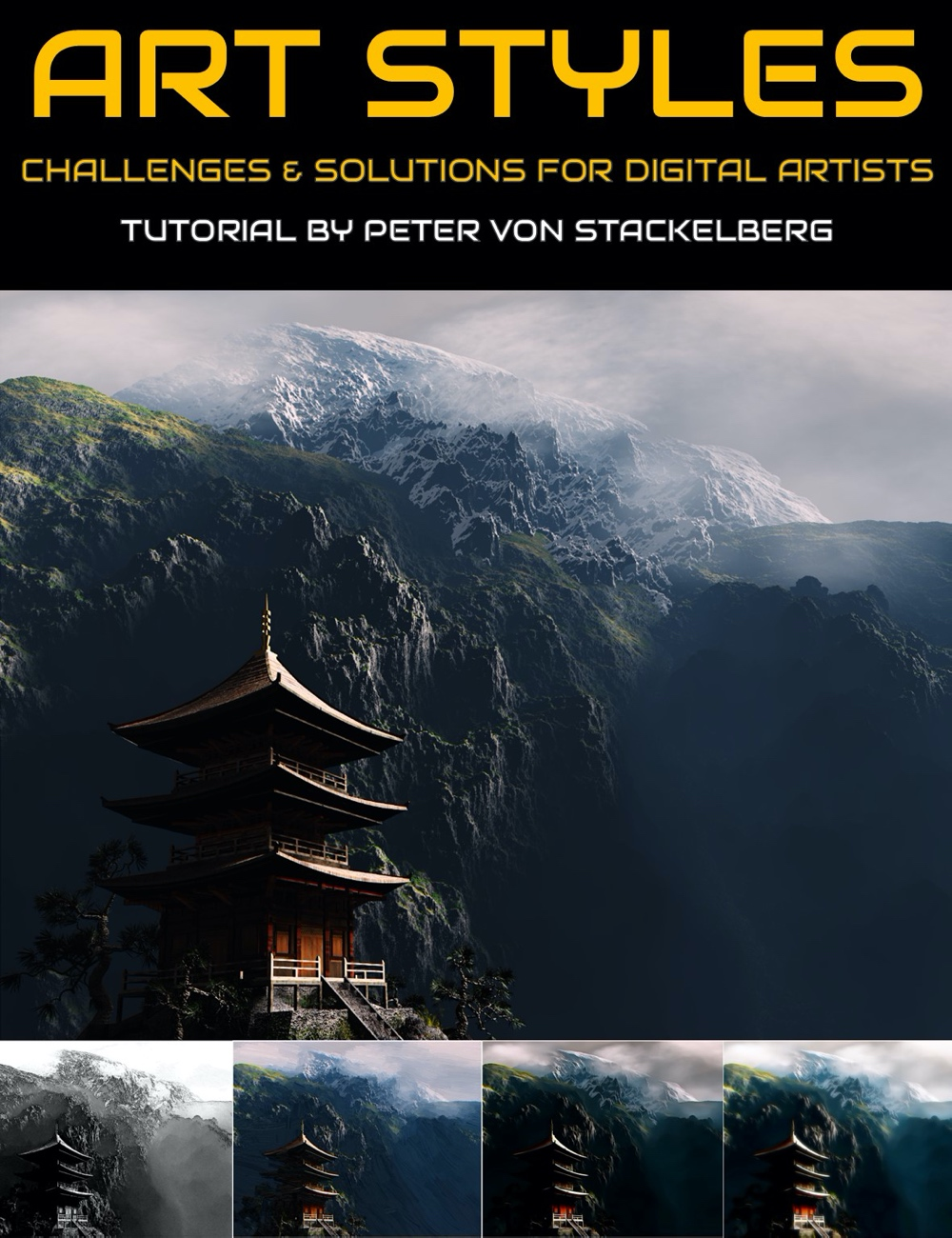 Art Styles: Solutions for Consistent Artwork Styling by: Digital Art LiveJericho Hill Publishing, 3D Models by Daz 3D