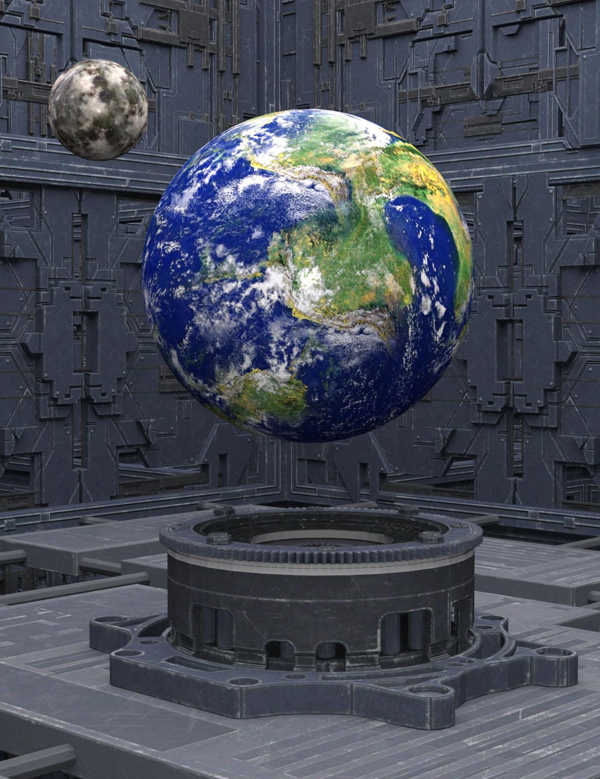 Machinarium by: Oskarsson, 3D Models by Daz 3D