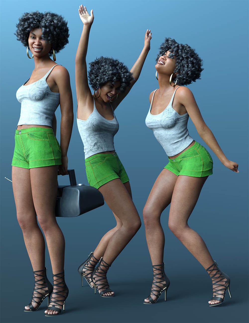 CDI Seventies Poses for Genesis 8.1 Female by: Capsces Digital Ink, 3D Models by Daz 3D