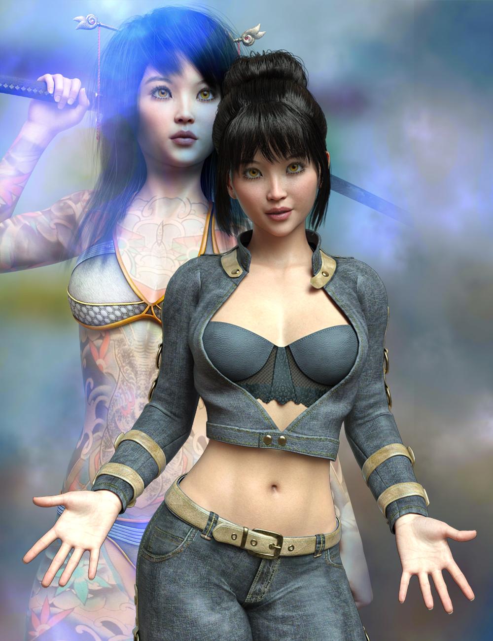 MR Yasmin for Genesis 8.1 Female by: Marcius, 3D Models by Daz 3D