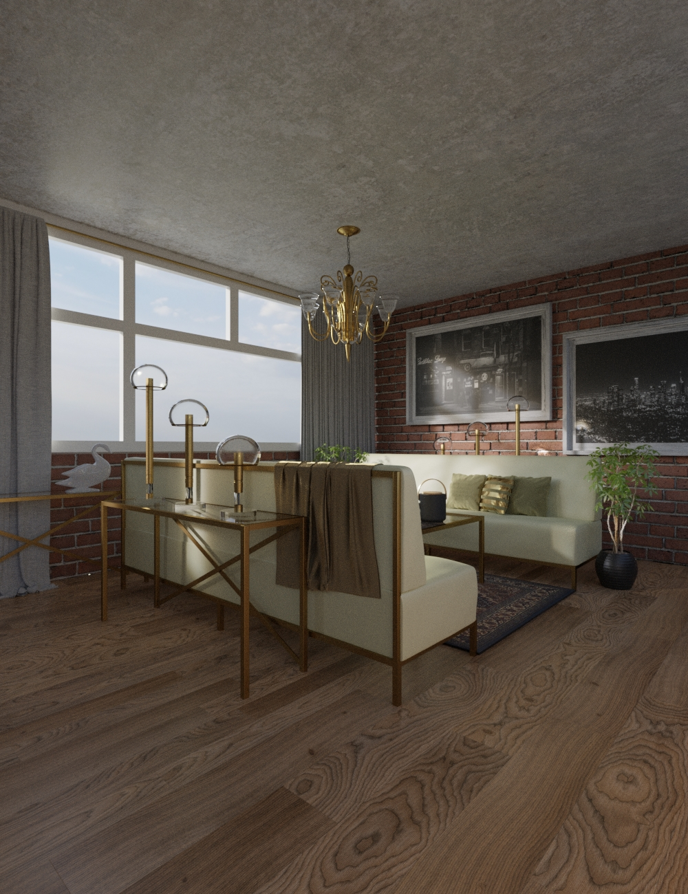Emerald Room by: Illumination, 3D Models by Daz 3D