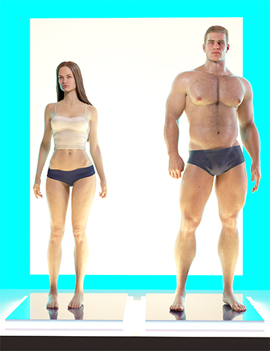 Standing Idle for Genesis 8 Female and Male by: PedroFurtadoArts, 3D Models by Daz 3D