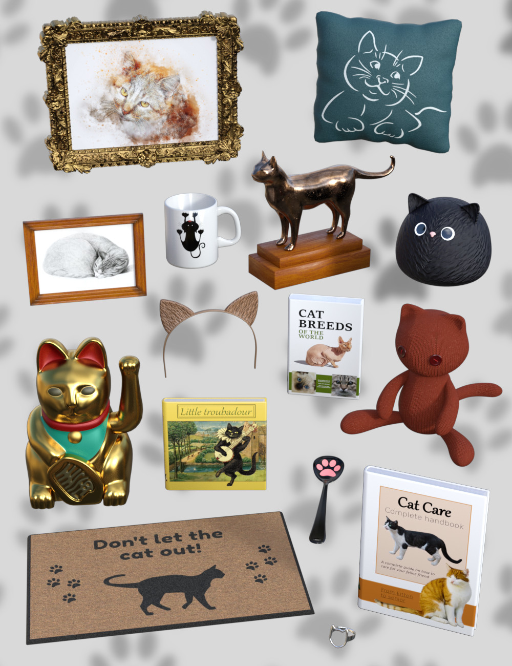 The Cat Collection by: Sylvan, 3D Models by Daz 3D