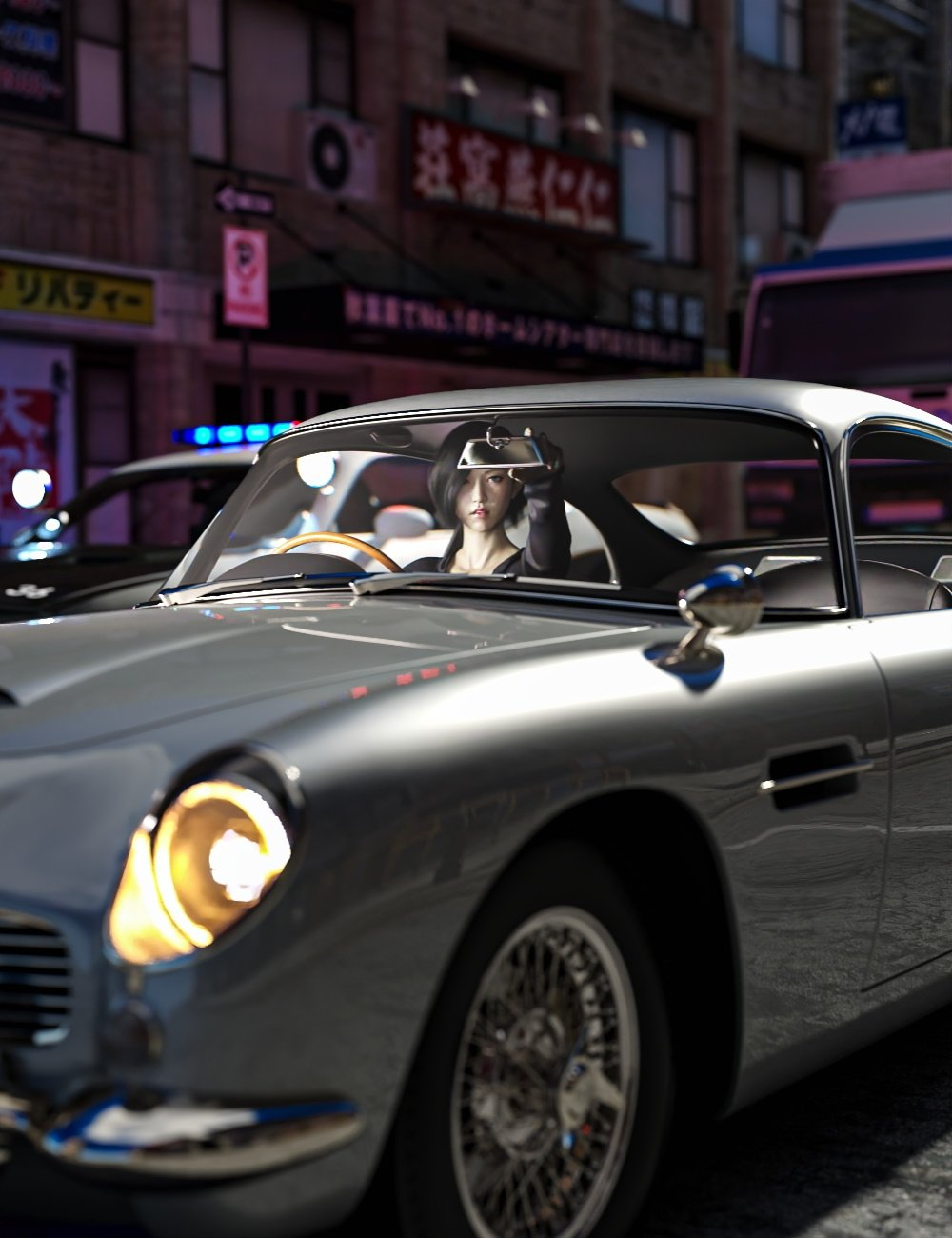 Majestic GT Poses for Genesis 8 by: mossberg, 3D Models by Daz 3D